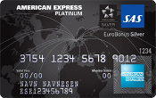 SAS EuroBonus Platinum American Express Card
